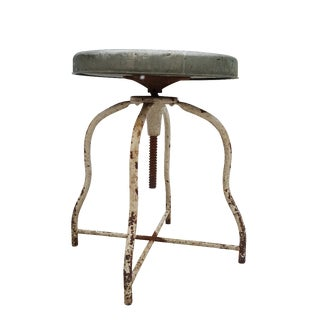 Industrial 1920's Stool