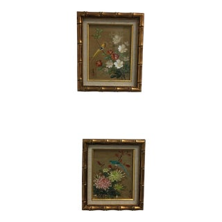 A Pair of Chinoiserie Framed Prints