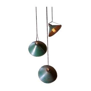 Adjustable Vintage Pendant Lights - Set of 3