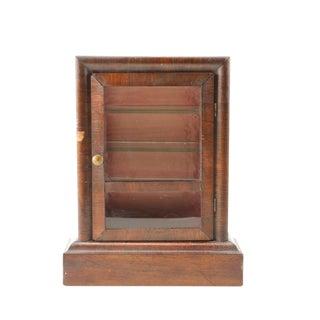 Antique Clock Case Display Cabinet