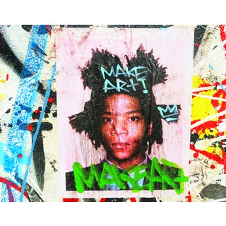 Original New York Street Art Photo, Basquiat