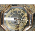 Image of Eglomised Mirrored Hanging Clock