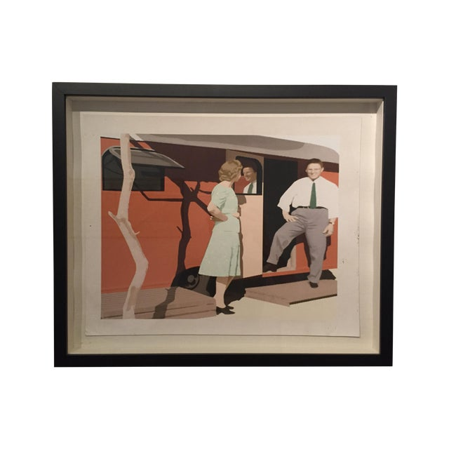 Michael Wolk Framed Print - Image 1 of 3