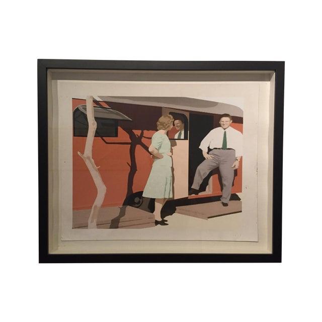 Image of Michael Wolk Framed Print