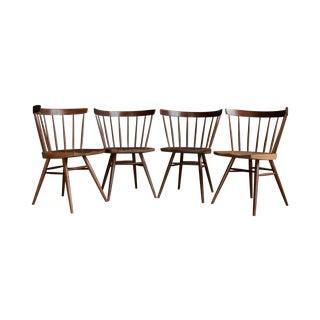 George Nakashima Straight Chair - Set of 4