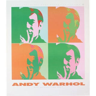 Andy Warhol-Four Self Portraits-1989 Poster