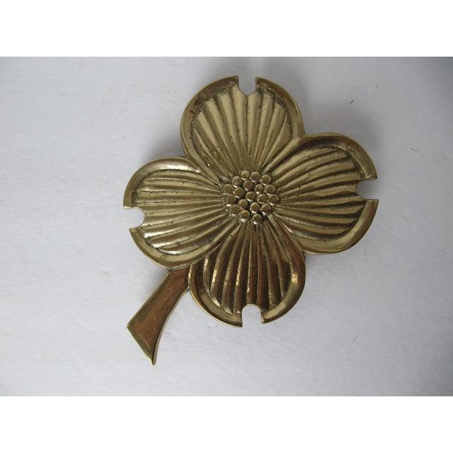 Brass Four Leaf Clover Trivet - Image 2 of 4