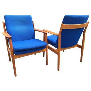 Danish Modern Arne Vodder Model #341 Chair - Pair