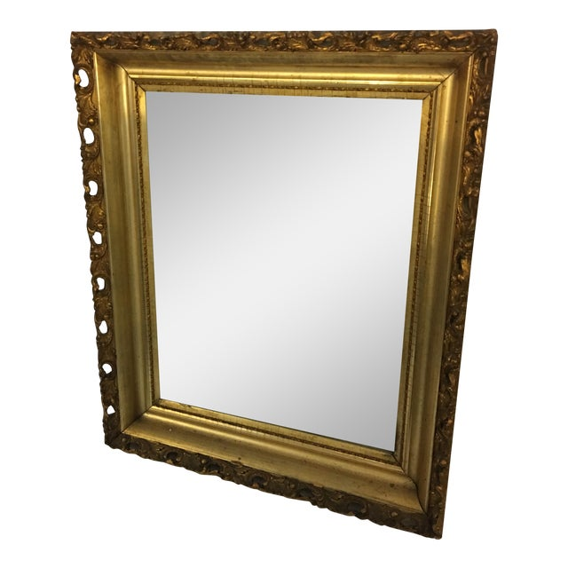 Carved Gold Framed Mirror - Image 1 of 8