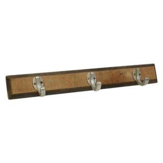 Aluminum 3-Hook on Wood Plank