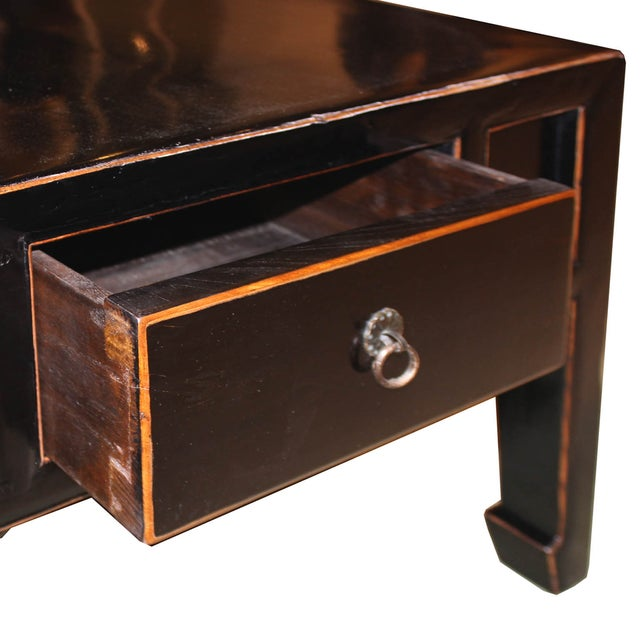 Four Drawer Black Coffee Table - Image 5 of 9