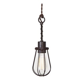 Oval Cage Trouble Light Pendant