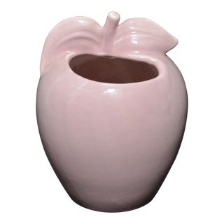 Red Wing Pottery Pink Apple Vase/Pencil Holder