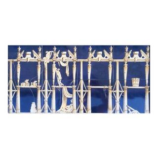 """""""La Casa Degli Efebi"""" Ceramic Tiles in the Style of Gio Ponti"""