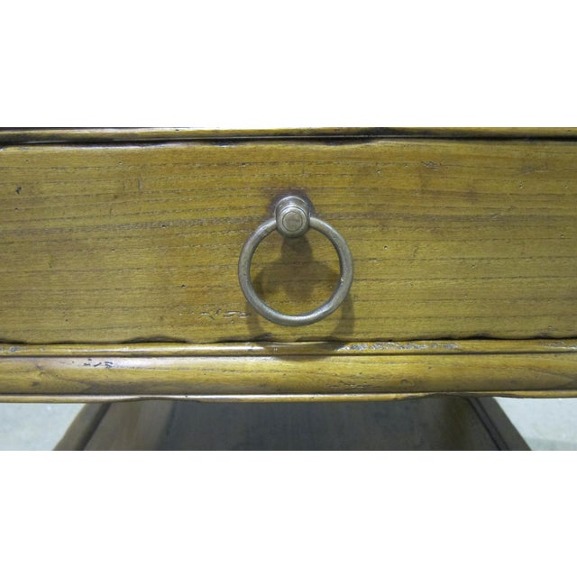 Vintage Sarreid LTD Elm Side Table Base - Image 4 of 4
