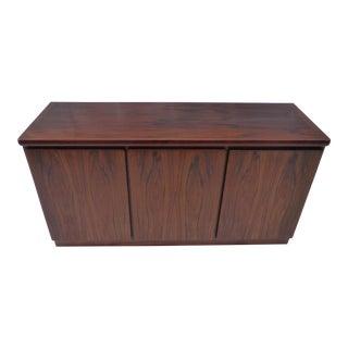 Danish Modern Rosewood Storage Cabinet