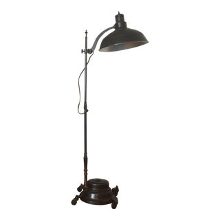 General Electric Converted Sun Lamp Floor Lamp