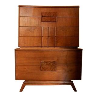 Mid-Century Modern Highboy Dresser