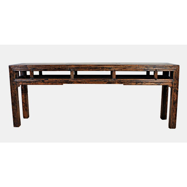 Sarreid LTD Asian Wooden Altar Table - Image 2 of 3