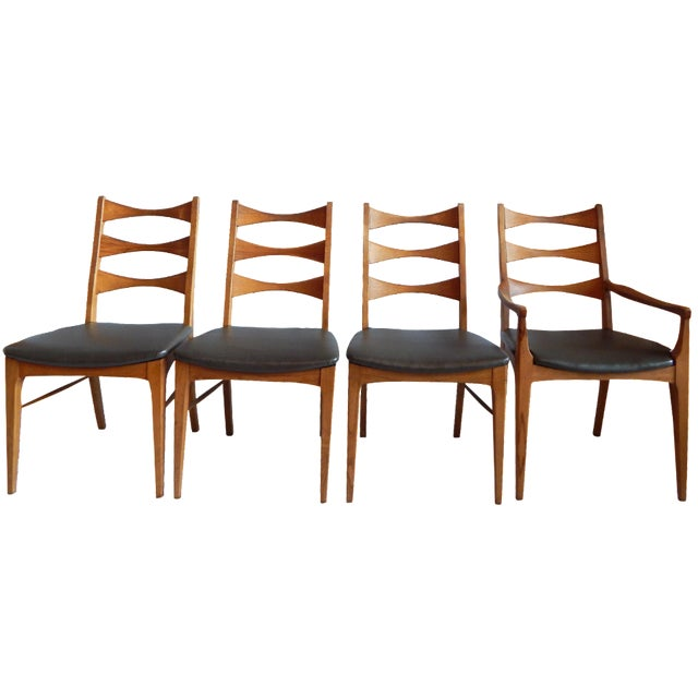 Rhythm Dining Chairs by Lane - Set of 4 - Image 1 of 5