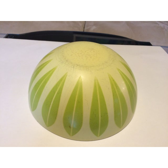 Cathrineholm Green And Yellow Lotus Bowl - Image 6 of 7