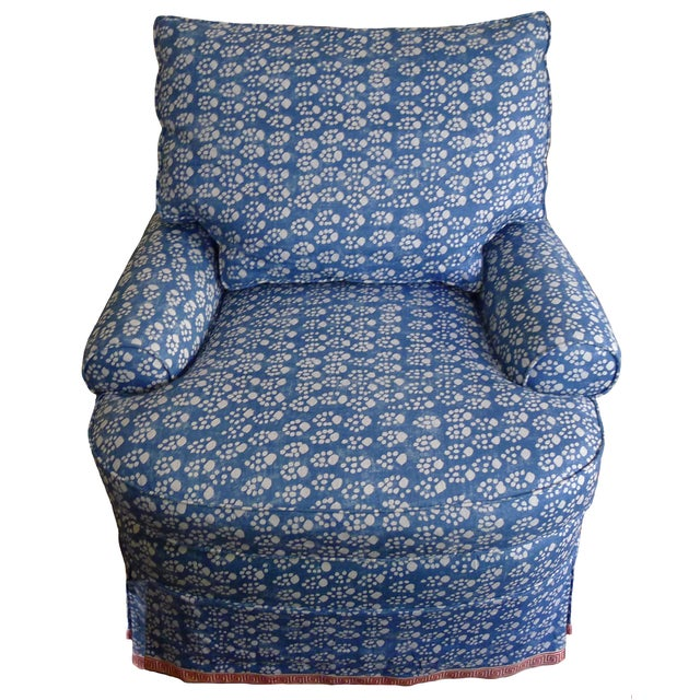 Soane Paw Print Upholstered Chair & Ottoman - Image 3 of 5