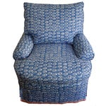 Image of Soane Paw Print Upholstered Chair & Ottoman