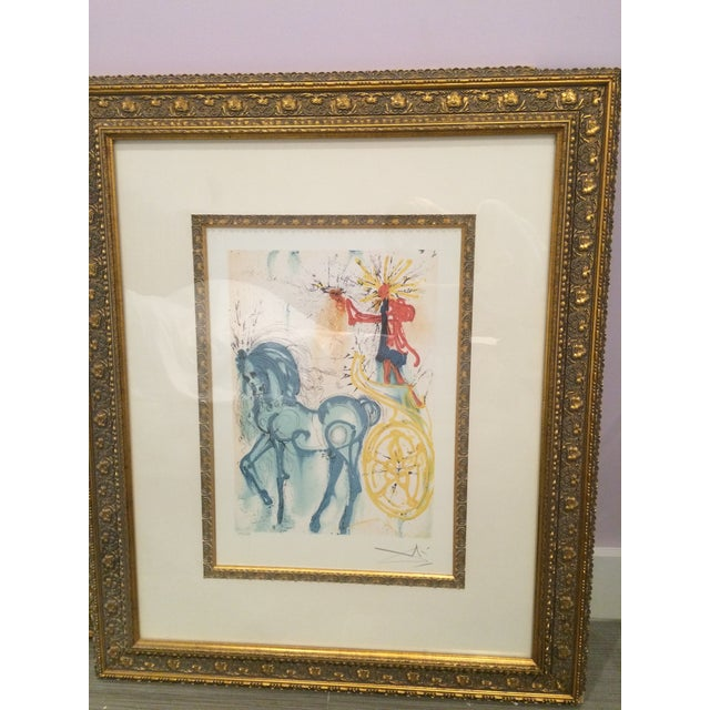 "Salvador Dali ""Le Cheval de Triomphe"" Artwork - Image 2 of 5"