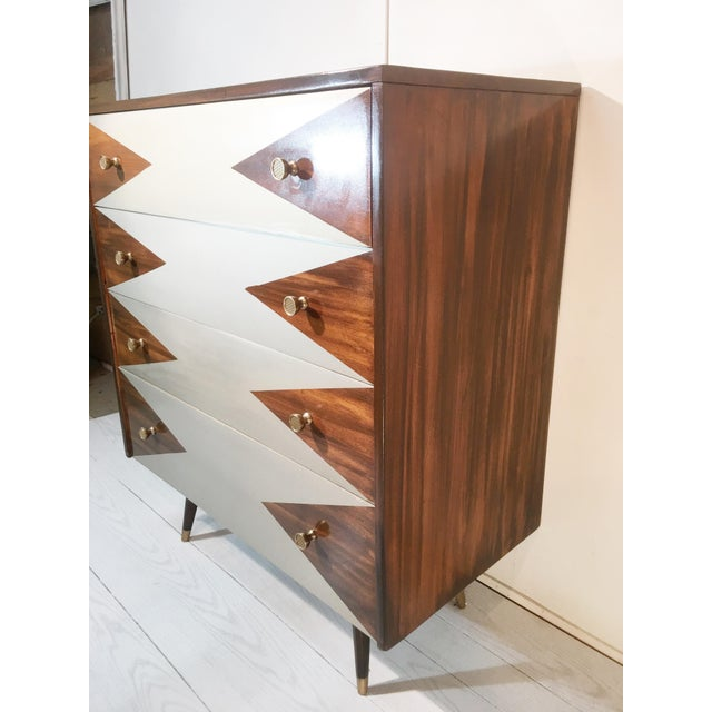 Paul McCobb Mid-Century Modern Geometric Chest - Image 6 of 8