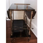 Image of Aldo Tura Goatskin Bar Cart
