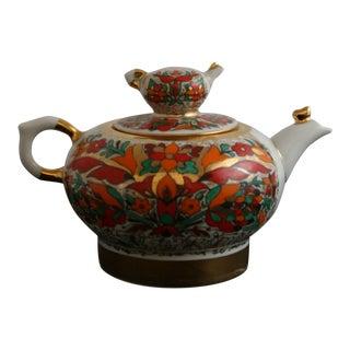 Russian Lomonsov Porcelain Rooster Teapot