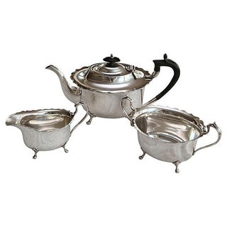 Antique English Silver Tea Service - S/3