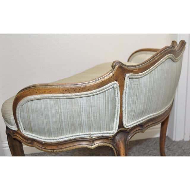 French Provincial Vanity Settee C.1920's - Image 6 of 6