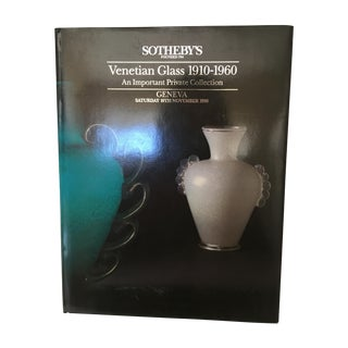 Sotheby's Venetian Glass 1910-1960 Auction Catalog