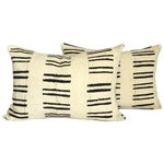 Image of Mud Cloth Black & White Pillows