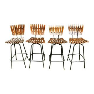 Arthur Umanoff Bar Stools - Set of 4