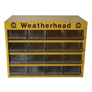 Vintage Weatherhead Storage Cabinet