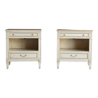 Kindel French Regency Nightstands - A Pair