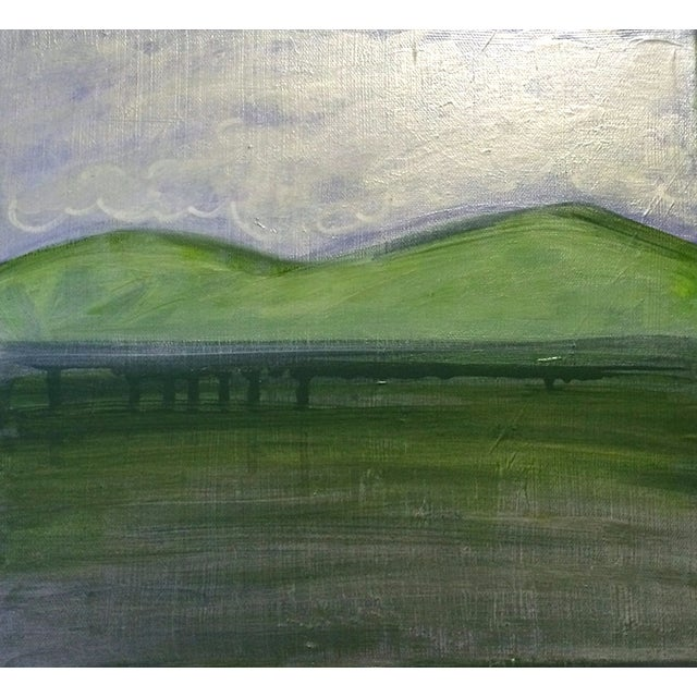 'TWiN Peaks' Original Landscape Painting - Image 1 of 5