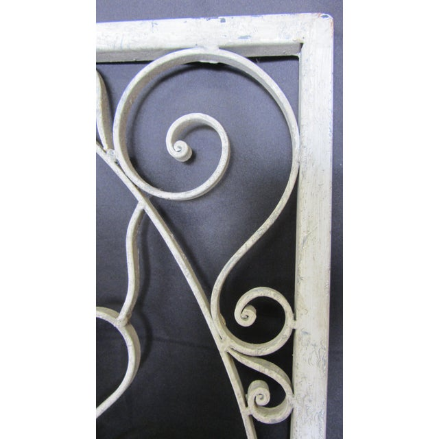 Vintage Painted Iron Wall Panel - Image 10 of 10