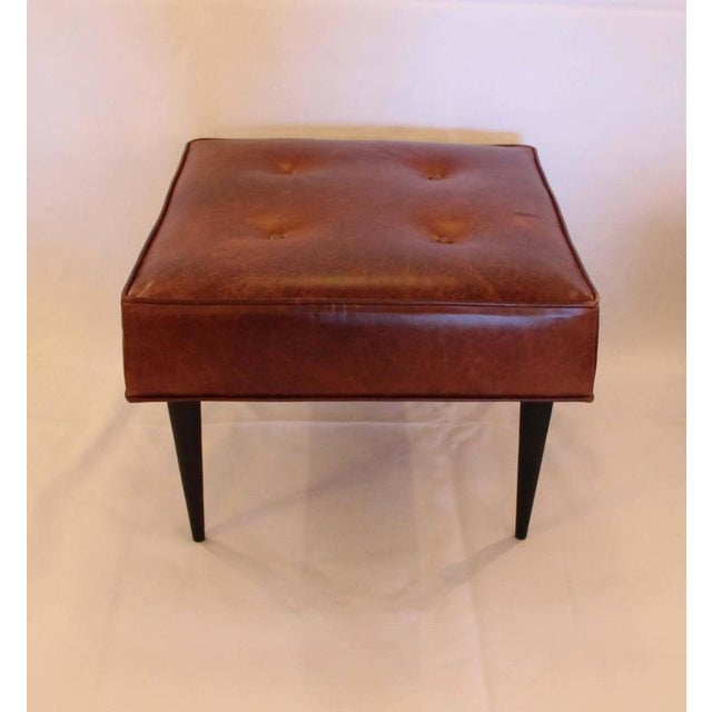 Leather Benches in the Manner of Paul McCobb - Image 3 of 5