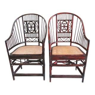 Brighton Style Pavilion Chairs - A Pair