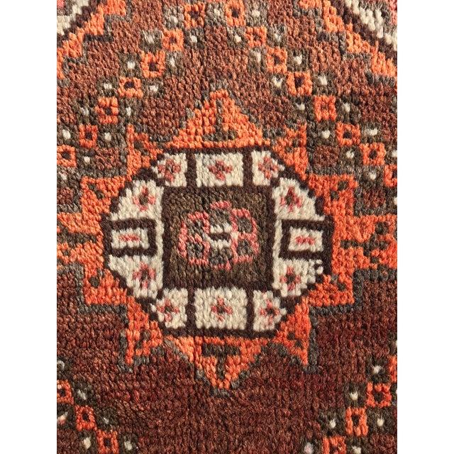"Vintage Persian Shiraz Runner - 3'7"" x 9'9"" - Image 5 of 10"