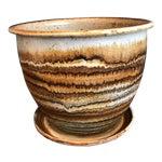 Image of Studio Pottery Planter & Drainage Dish
