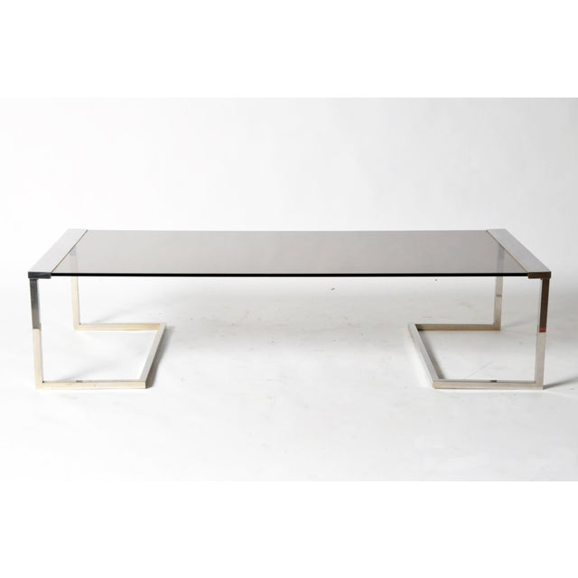 Image of Vintage Low Table in the Style of Guy Lefevre for Maison Jansen