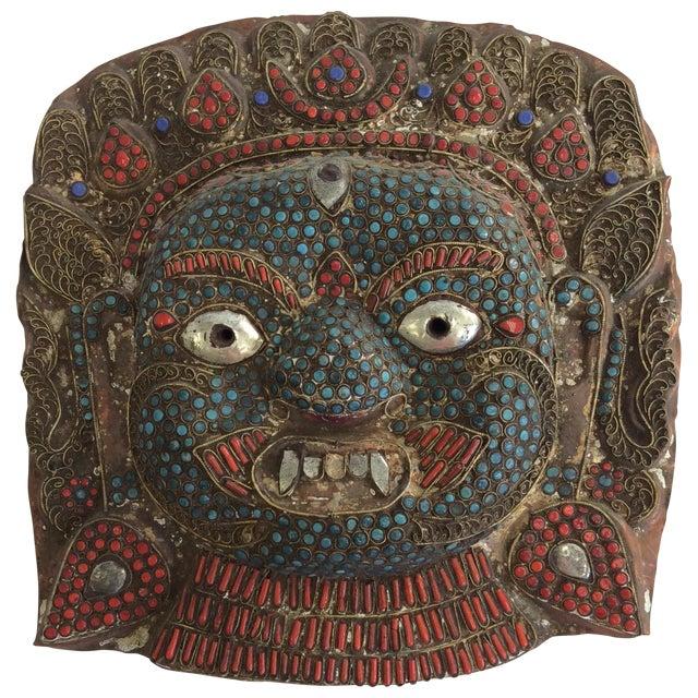 Large Buddhist Mask - Image 1 of 3