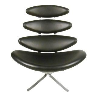 Mid-Century Modern Corona Chair by Poul M. Volther for Erik Jørgensen
