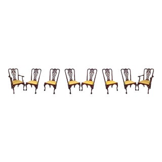 Georgian Style Dining Chairs - Set of 8