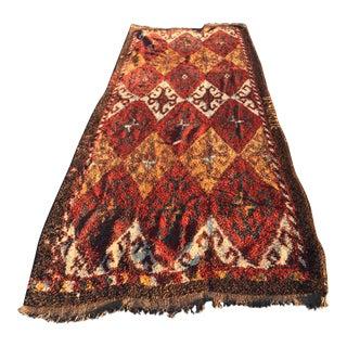 "Vintage Persian Gabeh Runner - 4'2"" X 11'10"""
