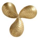 Image of Brass Leaf Design Tray